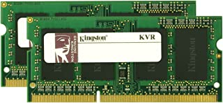 Kingston ValueRAM 8GB 1333MHz DDR3 Non-ECC CL9 SODIMM (Kit of 2) Notebook Memory