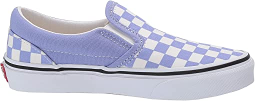 (Checkerboard) Pale Iris/True White