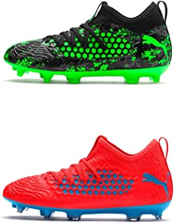 Official Brand Puma Future 19.3 Firm Ground Football Boots Juniors Soccer Cleats Shoes