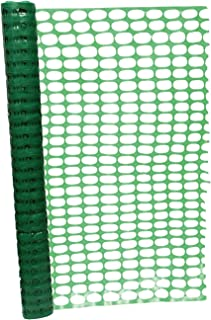 BISupply 4 FT Safety Fence – 100 FT Plastic Fencing Roll for Construction Fencing Pet Fencing and Event Fencing, Green