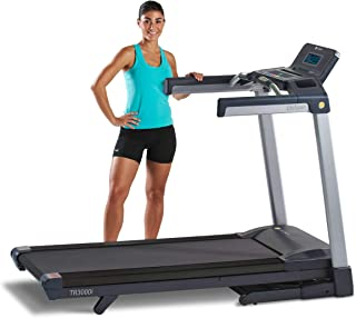LifeSpan Fitness LifeSpan TR3000i Touch Folding Treadmill, Gray/Black