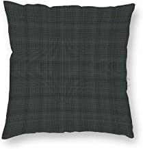 16 x 16 Inch Pillow Case, Colorado State Tartan Fabric Decorative Throw Pillow Cover Cushion Case