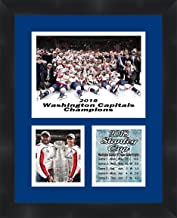 Washington Capitals 2018 Stanley Cup Champions Alex Ovechkin and Nicklas Backstrom Framed 11 x 14 Matted Collage Framed Ph...
