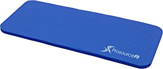 "ProsourceFit Yoga Knee Pad and Elbow Cushion 15mm (5/8"") Fits Standard Mats for Pain Free Joints in Yoga, Pilates, Floor Workouts"