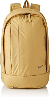 Nike Legend Solid Backpack For Women - NKBA5439-723 (Multicolour (Club Gold/Black))