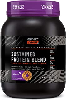 GNC AMP Sustained Protein Blend Girl Scout - Coconut Caramel