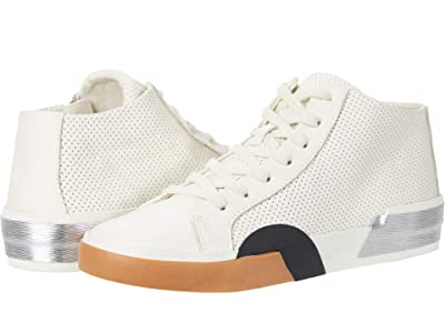 Dolce Vita Zoel (White Perforated Leather) Women