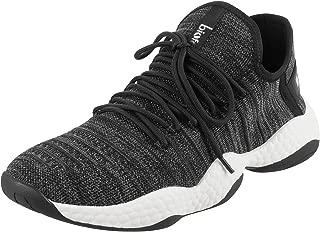 Metro Men's Black Sneakers-9 UK (43 EU) (71-9645)