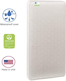 "Sealy Baby Flex Cool 2-Stage Airy Dual Firmness Waterproof Standard Toddler & Baby Crib Mattress, 51.7""x 27.3"