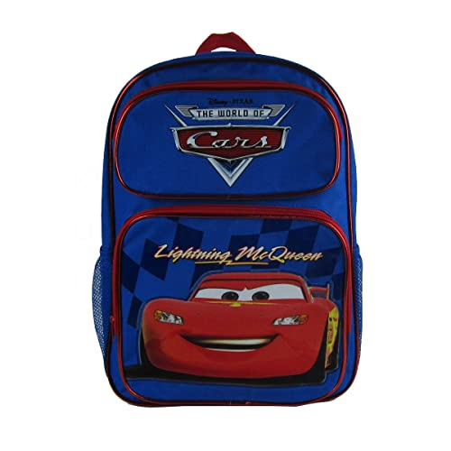 Officially Licensed Disney Pixar Cars Backpack - Lightning McQueen