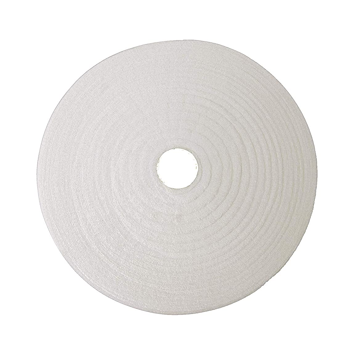 Zipcase On-A-Roll Upholstery Needle-Punched Cotton Batting for Jelly Roll Rugs, Purses, 2-1/4 inches by 25 Yards