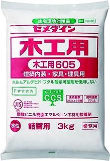 プロランキングセメダイン木工用接着剤605水性詰め替え用市販品3kgAE-215購入