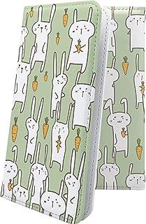 moto g8 plus ケース 手帳型 かわいい 可愛い kawaii lively ウサギ 兎 兔 モト プラス 動物 動物柄 アニマル どうぶつ motog8 g8plus キャラクター キャラ キャラケース 10801-ffzdlf-1...