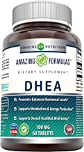 Amazing Nutrition DHEA Supplement, 100mg, 60 Tablets