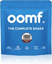 Oomf Complete Shake Chocolate Flavour Vegan Supplements High Protein and Fibre Meal Replacement Powder 26 Vitamins and Minerals Dairy Lactose SOYA and GMO Free 10 Servings 1 14 KG