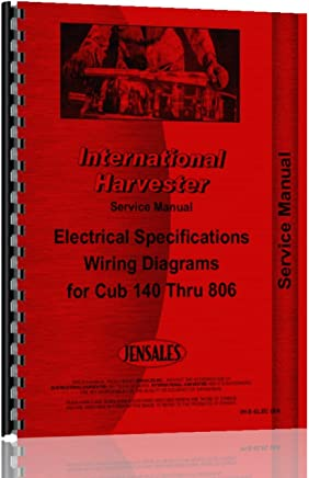 international electrical specs and wiring diagrams service manual