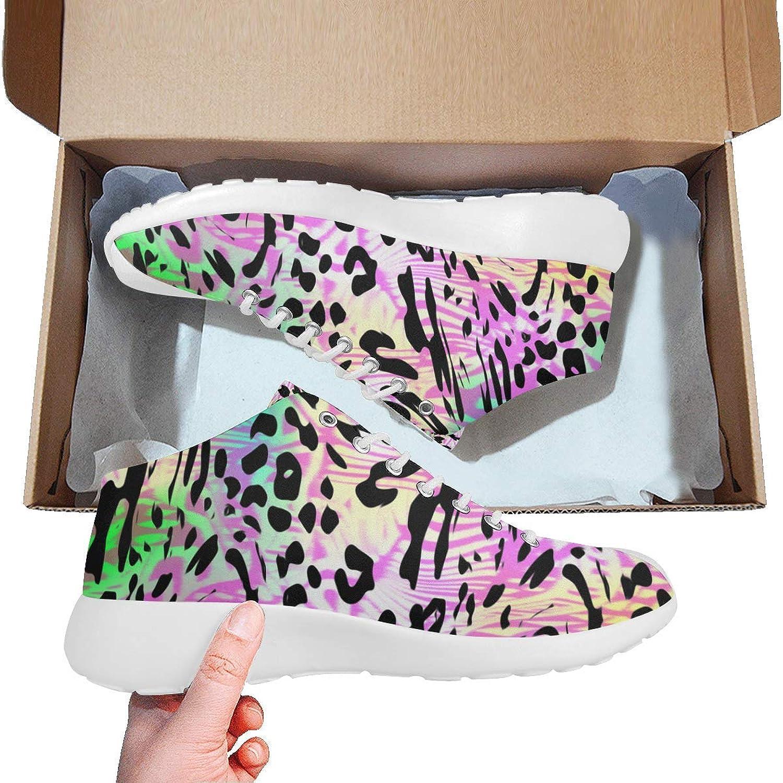 Kvinnor i Basketball springaning skor ljusljus ljusljus ljusljus Sports SneekersStripped Leopard Prints  för att ge dig en trevlig online shopping
