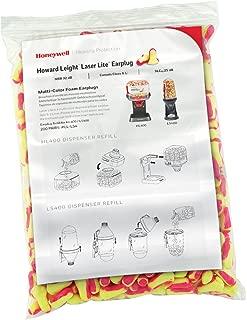 Howard Leight Laser Lite Hi-Visibility Earplug Refill for HL400 Dispenser, 200 Pairs (LPF-LS4-REFILL)