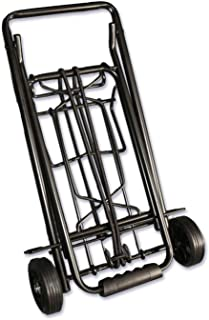 World's Best TravelKart Travel Luggage Cart, Black