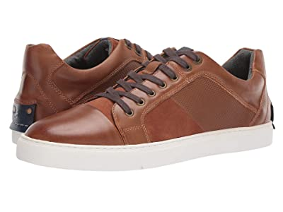 Steve Madden Mister Sneaker (Cognac Leather) Men