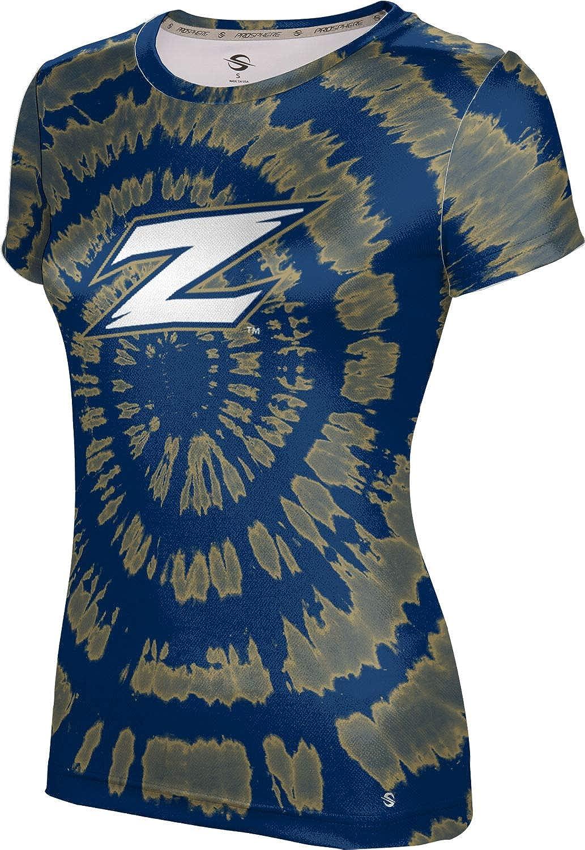 ProSphere University of Akron Girls' Performance T-Shirt (Tie Dye)