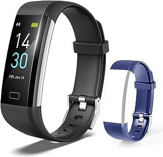 TOPLUS Fitnessmätare, aktivitetsmätare för hjärtmonitor, sömnspårare, smartklocka med GPS, kaloriräknare, stegräknare, spo...