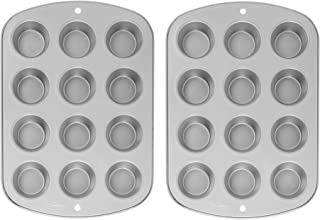 Wilton Recipe Right Nonstick 12-Cup Regular Muffin Pan (Pack of 2)