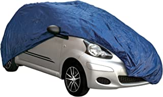 486X139X120Cms Cosmos 10333-37 Supersoft Breathable Dustproof Fabric Large indoor Car Cover in Black