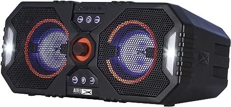 Altec Lansing ALP-XP400 Xpedition 4 Waterproof Portable Bluetooth Speaker, Dual 4