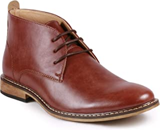 Metrocharm MC149 Men's Lace up Oxford Fashion Ankle Chukka Boots