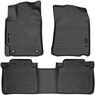 Husky Liners 98901 Black Weatherbeater Front & 2nd Seat Floor Liners Fits 2012-2017 Toyota Camry