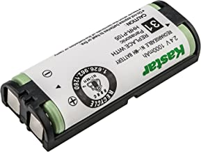 Kastar Type 31, NI-MH Rechargeable Cordless Telephone Battery 2.4V 1000mAh, Replacement for Panasonic HHR-P105 Cordless Phone HHRP105A