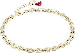 SHASHI - Chain Pave Bracelet