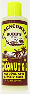 Value Pack Hawaiian Beachcomber Budd Pure Coconut Oil 8 oz. Scented 4 Bottles