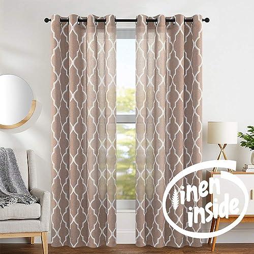Living Room Curtains For Windows Amazon Com