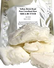 Yellow Brick Road 100% Raw Unrefined Shea Butter-African Grade a Ivory 1 Pound (16oz)
