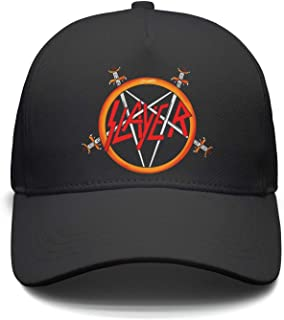 Unisex Mesh Hip-Hop Cap Slayer-Death-of-Jeff-Hanneman-and-Repentless- Caps