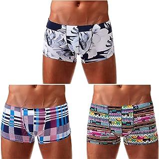 Arjen Kroos Men's Sexy Low Rise Boxer Briefs Trunks Underwear