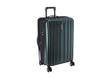 Delsey 25 Chromium Lite Expandable Spinner Upright (Emerald) Luggage