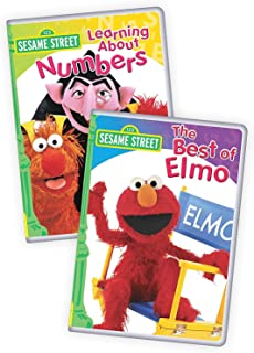 Sesame Street: Best of Elmo/Learning About Numbers 2-Pack