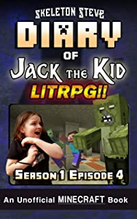 Diary of Jack the Kid LitRPG - Season 1 Episode 4: An Unofficial Minecraft Book