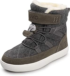 Sponsored Ad - UOVO Boys Snow Boots Boys Boots Winter Boots for Kids Waterproof Winter Snow Boots for Boys Warm Slip Resis...