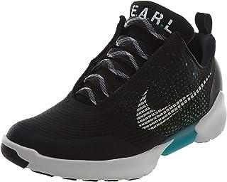 watch c2d72 724e9 Nike Mens Hyper Adapt 1.0 Black White-Blue Lagoon Mesh
