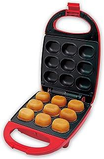 YSN ベビーカステラメーカー レッド | ベビーカステラ ホットケーキミックス 5分調理 ホットプレート ホットサンド 時短調理 お菓子づくり 簡単