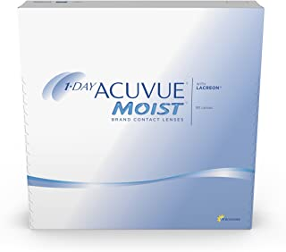 1-Day Acuvue Moist Contact Lens - 90 Pack, Clear, -5.5