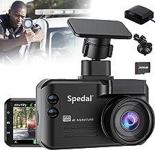 $229 » Sponsored Ad - GPS Radar Detectors Dash Cam 3 in 1 with Antenna, Spedal 1296P 140 ° Wide Angle Car Camera, Speed Camera De...
