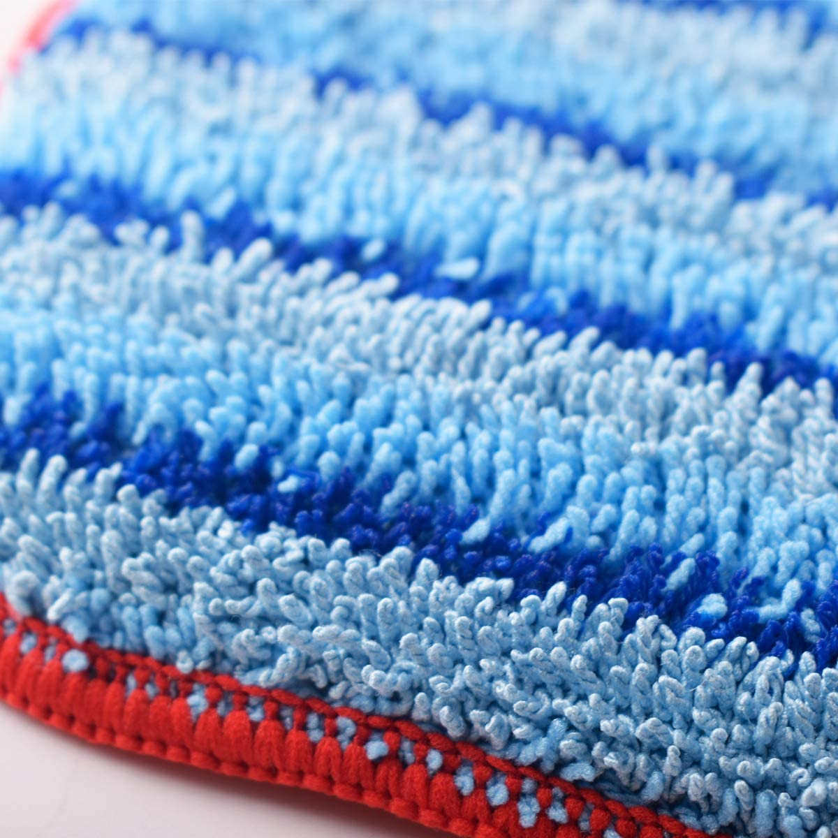 Tomkity 4 Pack A1375-100 and A1375-101 Microfiber Steam Mop Pad Replacement for McCulloch MC1375 MC1385 Include 2 Pack Soft Mop Pad and 2 Pack Scrubbing Mop Pad