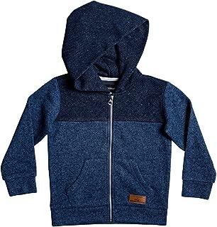 Little Keller Block Zip Boy Fleece