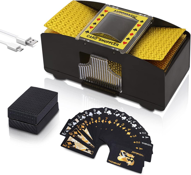 Talent Star Automatic lowest Indefinitely price Card Shuffler 2 Batt Deck USB