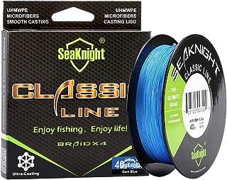 SeaKnight Classic 4 strengen gevlochten vislijn 300M / 500M SUPER gevlochten lijn dun, sterk en glad vissen lijn 6-80 lbs